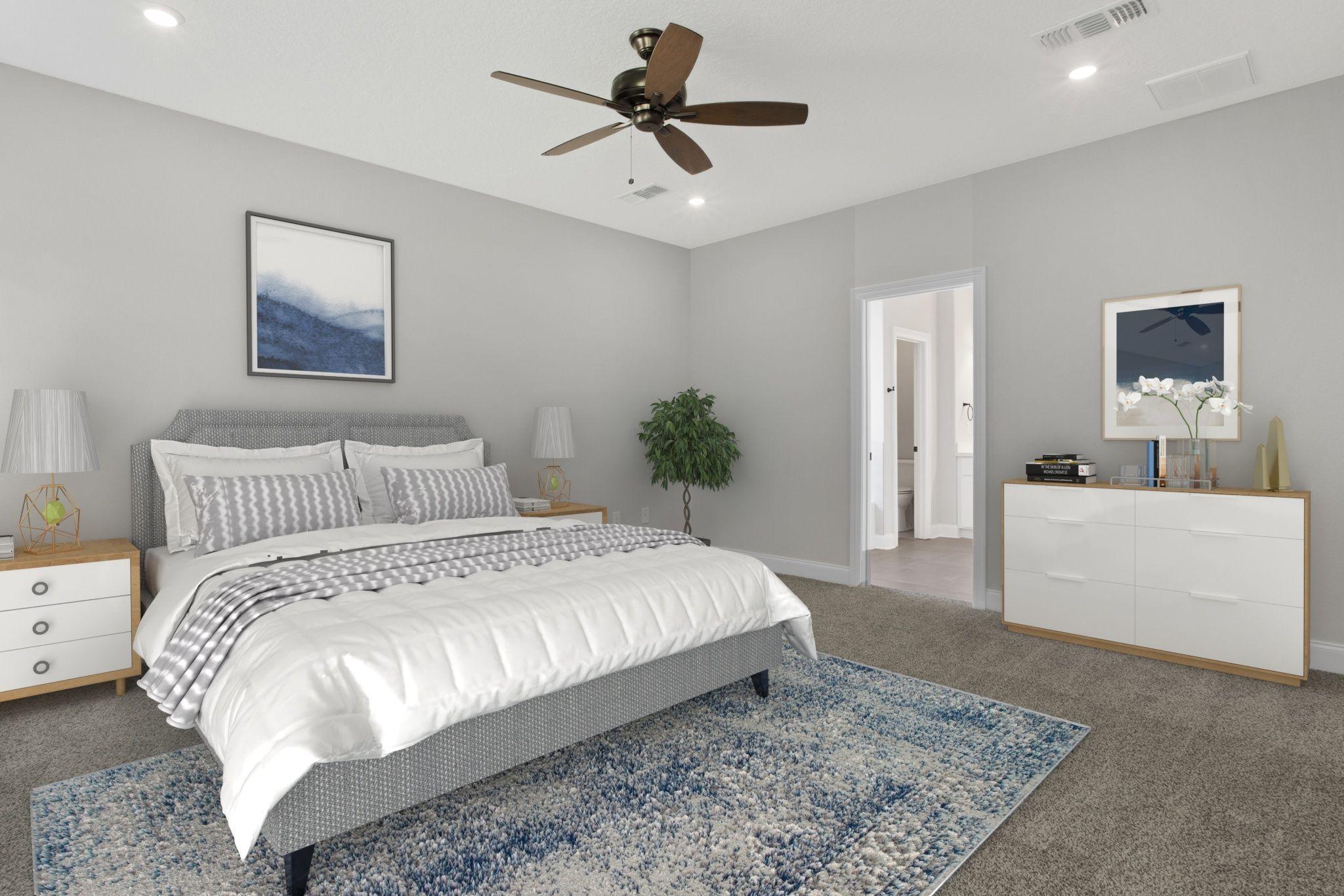 Bedroom featured in The Juliette By Elliott Homes in Biloxi, MS