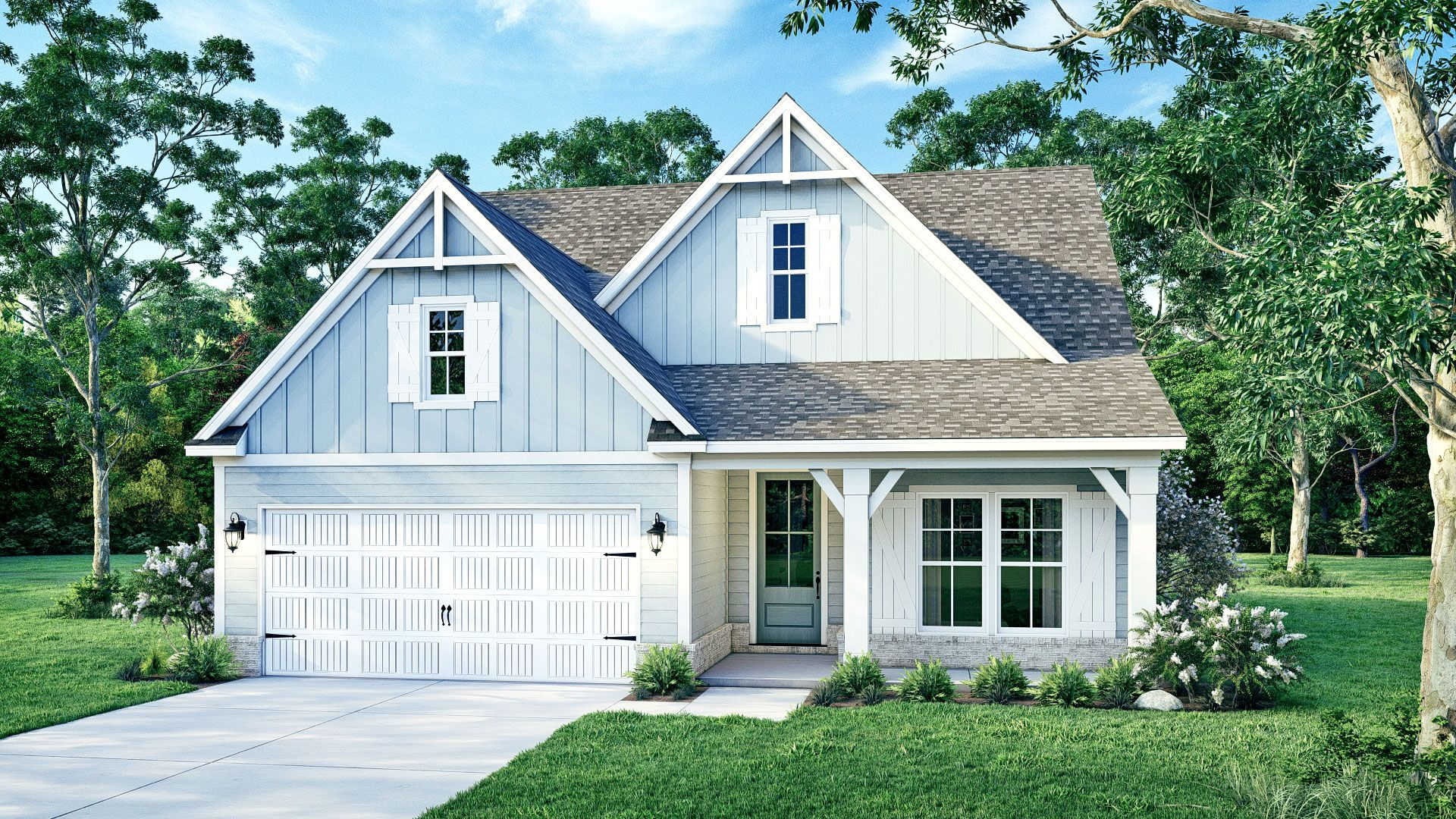 Exterior featured in The Jasmine By Elliott Homes in Biloxi, MS