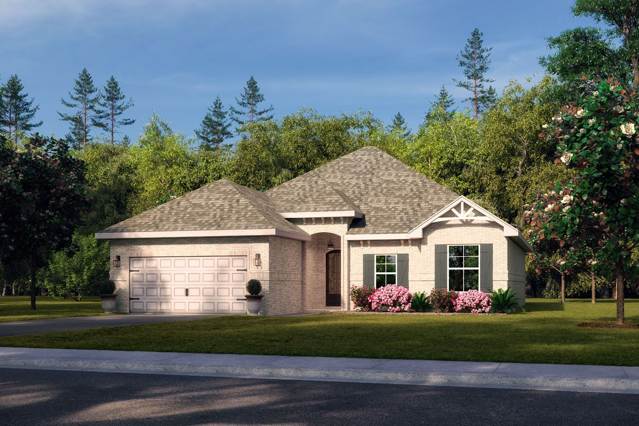 Exterior featured in The Alton By Elliott Homes in Biloxi, MS