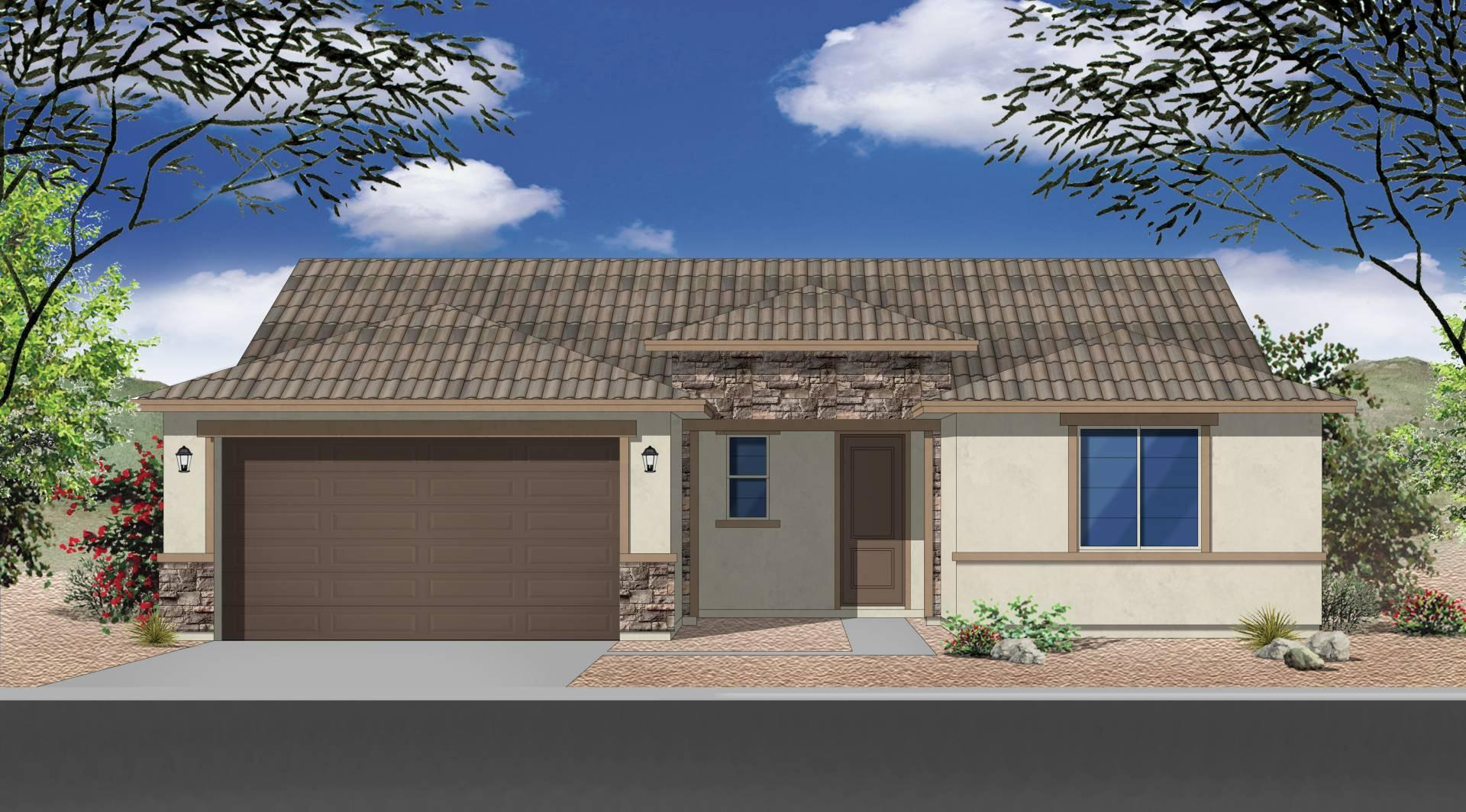 Exterior featured in the Plan 1577 By Elliott Homes - Arizona in Yuma, AZ