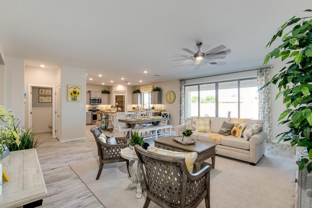 Living Area featured in the Plan 1846 By Elliott Homes - Arizona in Yuma, AZ