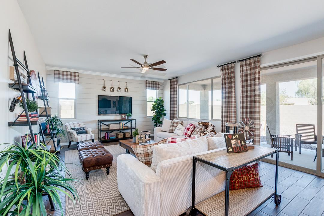 Living Area featured in the Plan 2342 By Elliott Homes - Arizona in Yuma, AZ