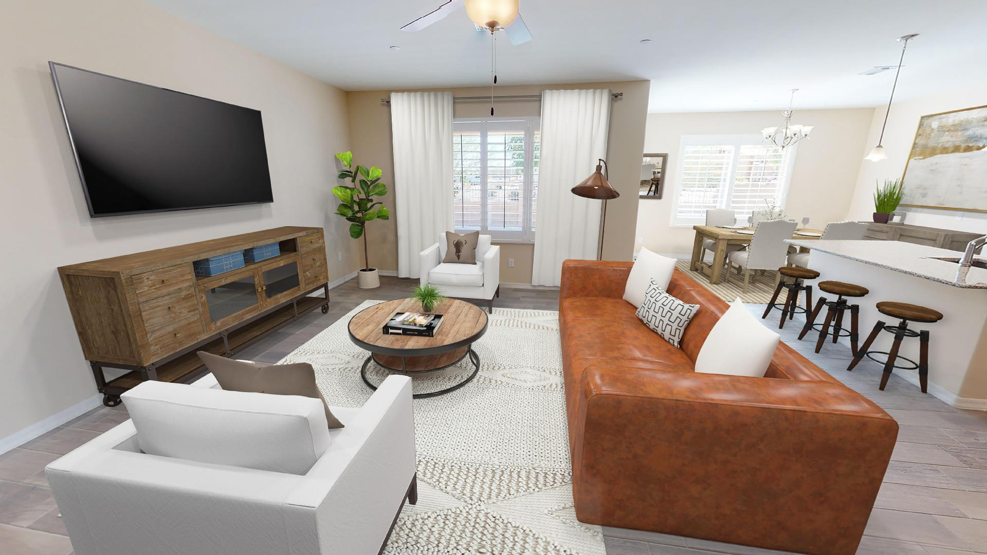 Living Area featured in the Plan 3 By Elliott Homes - Arizona in Yuma, AZ