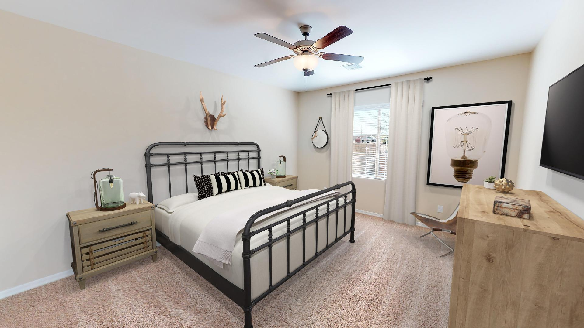 Bedroom featured in the Plan 3 By Elliott Homes - Arizona in Yuma, AZ