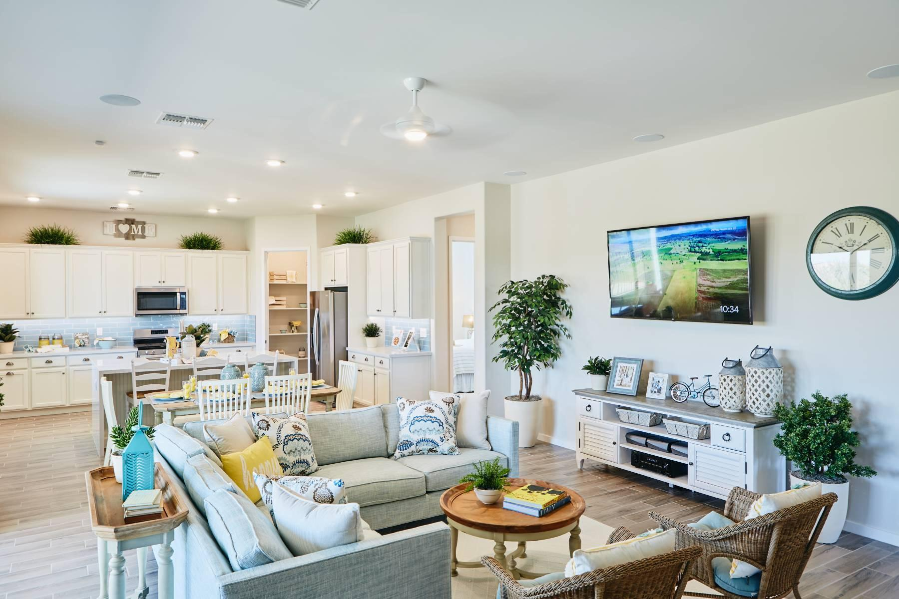 Living Area featured in the Plan 2496 By Elliott Homes - Arizona in Yuma, AZ