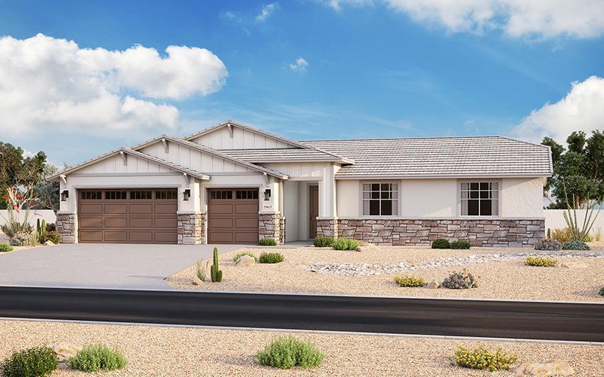 Exterior featured in the Plan 201 By Elliott Homes - Arizona in Yuma, AZ