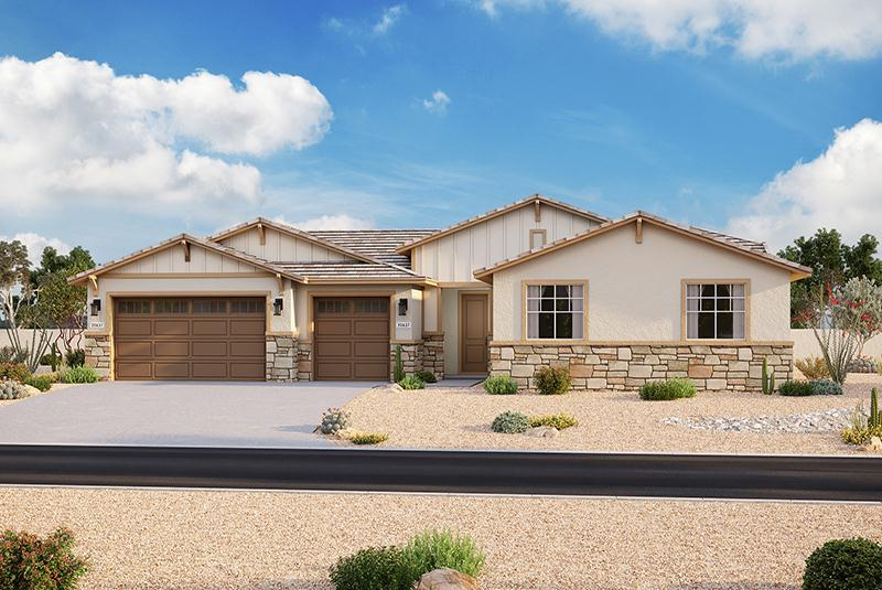 Exterior featured in the Plan 202 By Elliott Homes - Arizona in Yuma, AZ