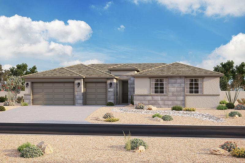 Exterior featured in the Plan 203 By Elliott Homes - Arizona in Yuma, AZ