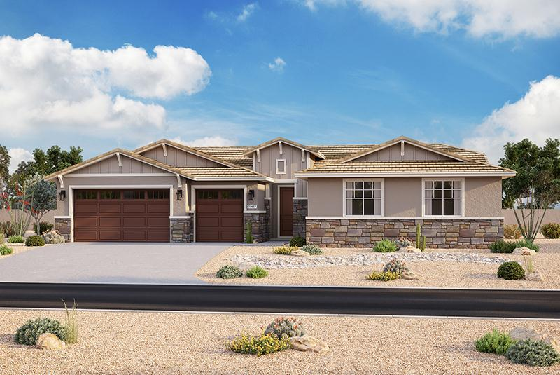 Exterior featured in the Plan 203 By Elliott Homes - Arizona in Yuma, AZ