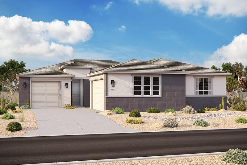 Exterior featured in the Plan 3101 By Elliott Homes - Arizona in Yuma, AZ