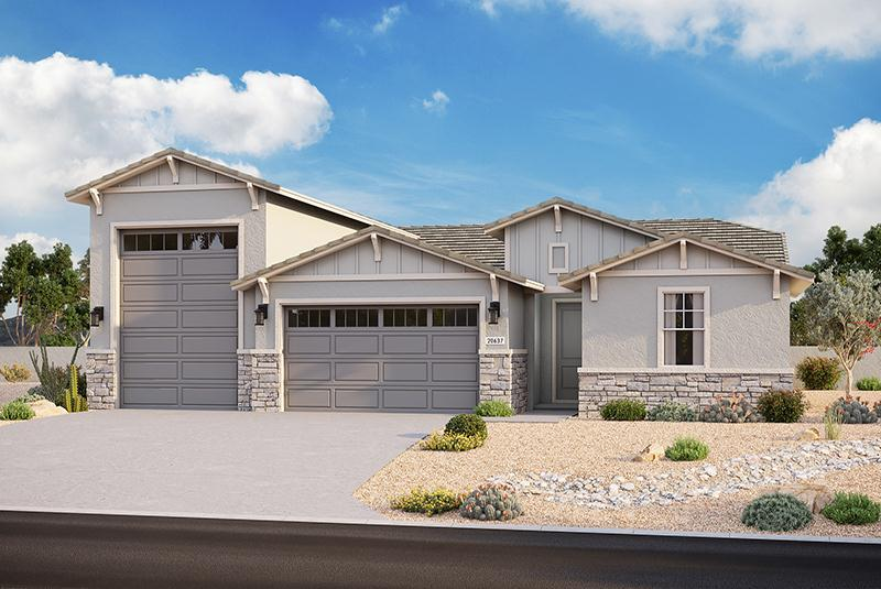 Exterior featured in the Plan 3102 By Elliott Homes - Arizona in Yuma, AZ