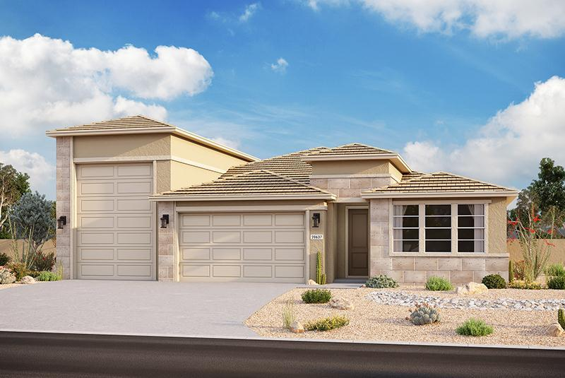 Exterior featured in the Plan 3103 By Elliott Homes - Arizona in Yuma, AZ