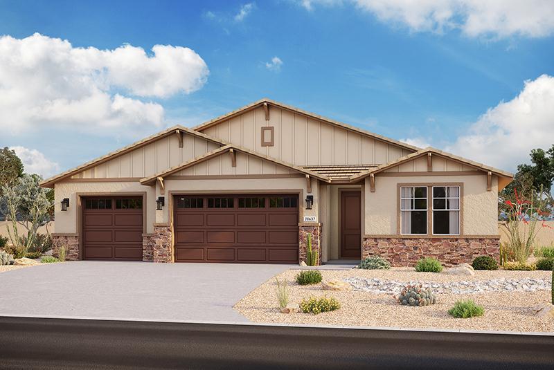 Exterior featured in the Plan 3103 By Elliott Homes - Arizona in Yuma, AZ