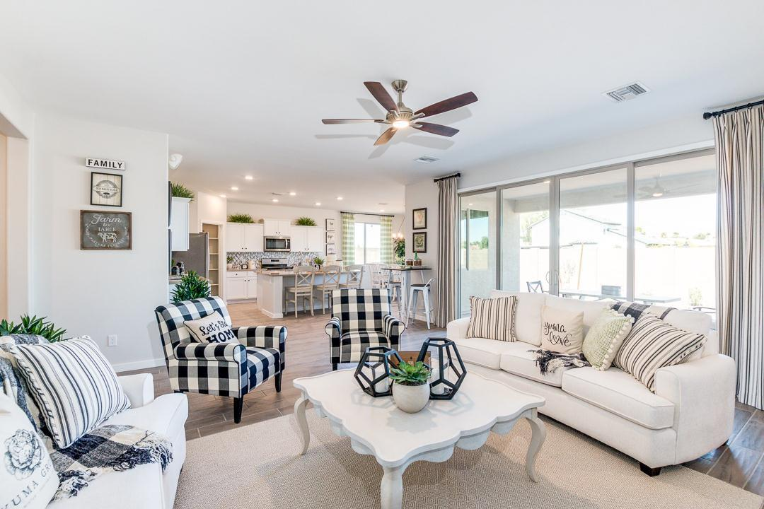Living Area featured in the Plan 2121 By Elliott Homes - Arizona in Yuma, AZ