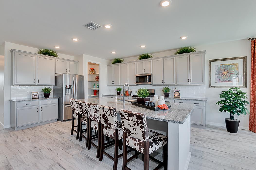 Kitchen featured in the Plan 203 By Elliott Homes - Arizona in Yuma, AZ