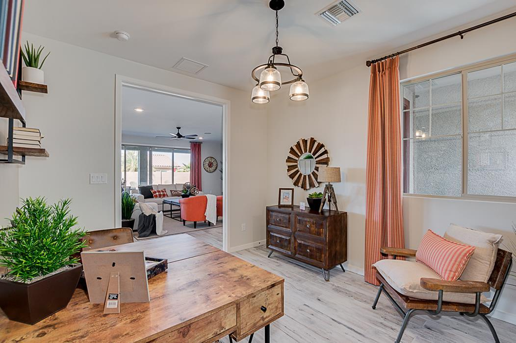 Living Area featured in the Plan 203 By Elliott Homes - Arizona in Yuma, AZ