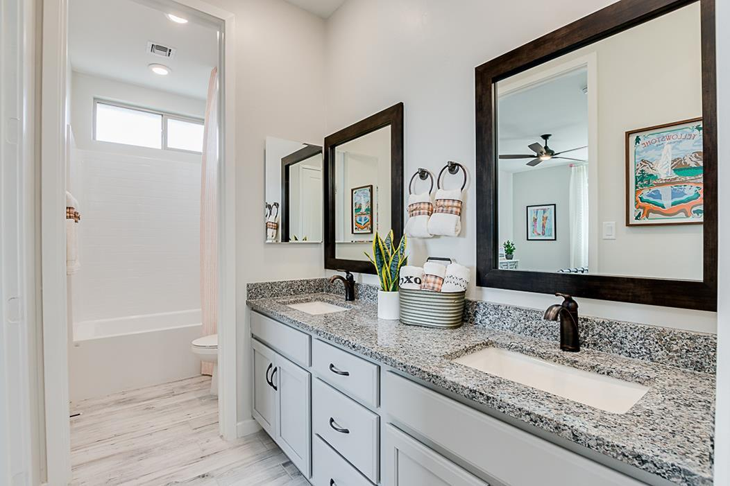 Bathroom featured in the Plan 203 By Elliott Homes - Arizona in Yuma, AZ