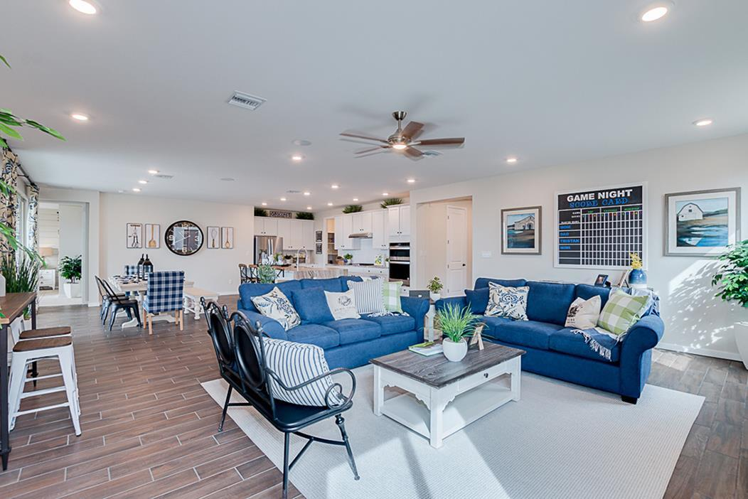 Living Area featured in the Plan 3102 By Elliott Homes - Arizona in Yuma, AZ