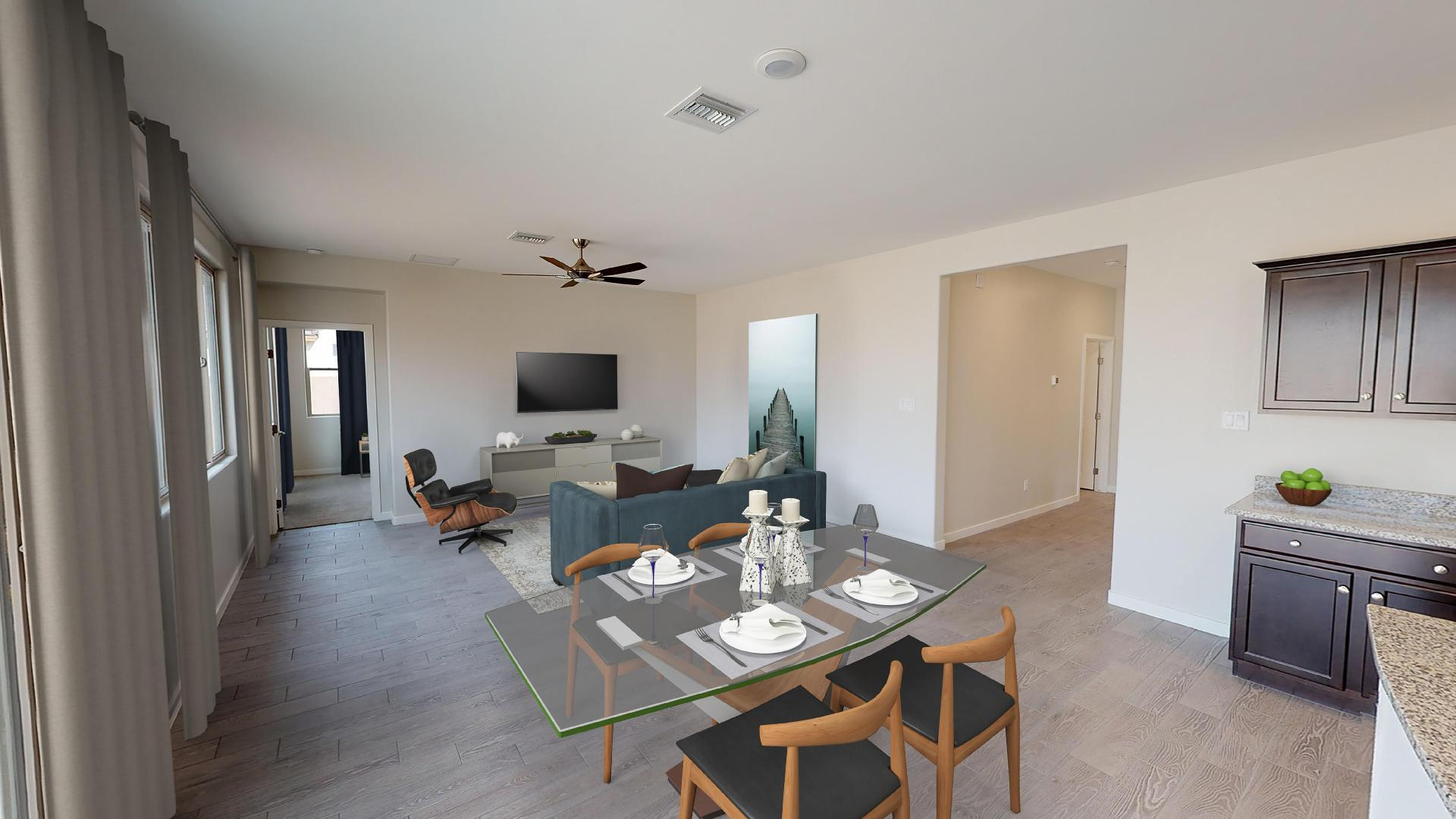 Living Area featured in the Plan 1577 By Elliott Homes - Arizona in Yuma, AZ