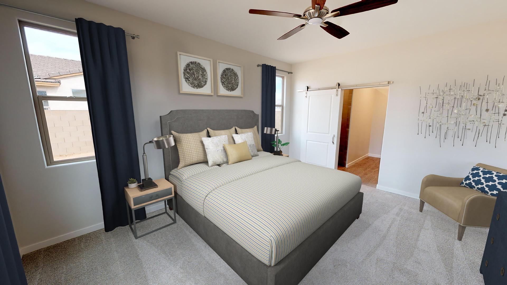 Bedroom featured in the Plan 1577 By Elliott Homes - Arizona in Yuma, AZ