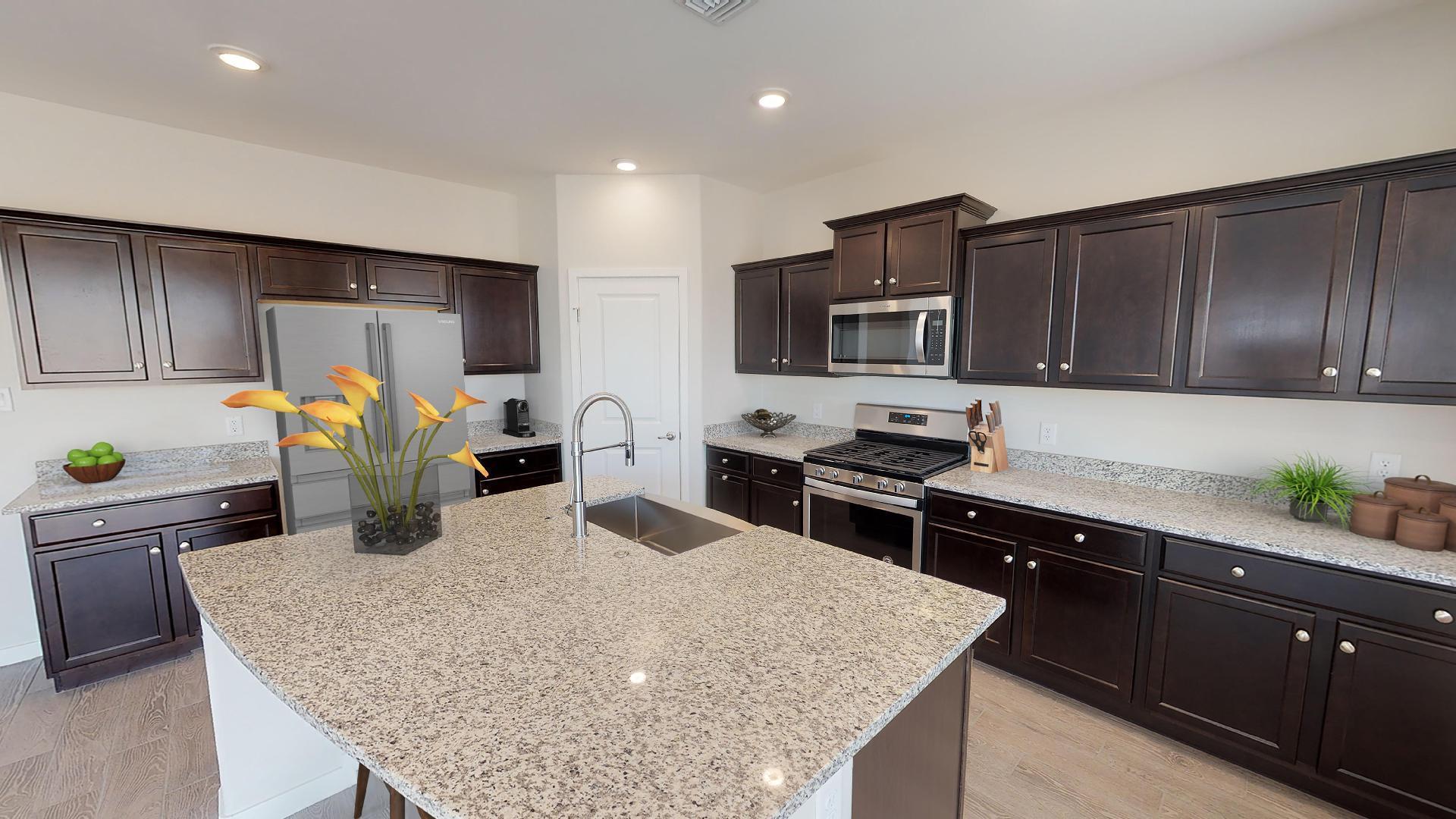 Kitchen featured in the Plan 1577 By Elliott Homes - Arizona in Yuma, AZ