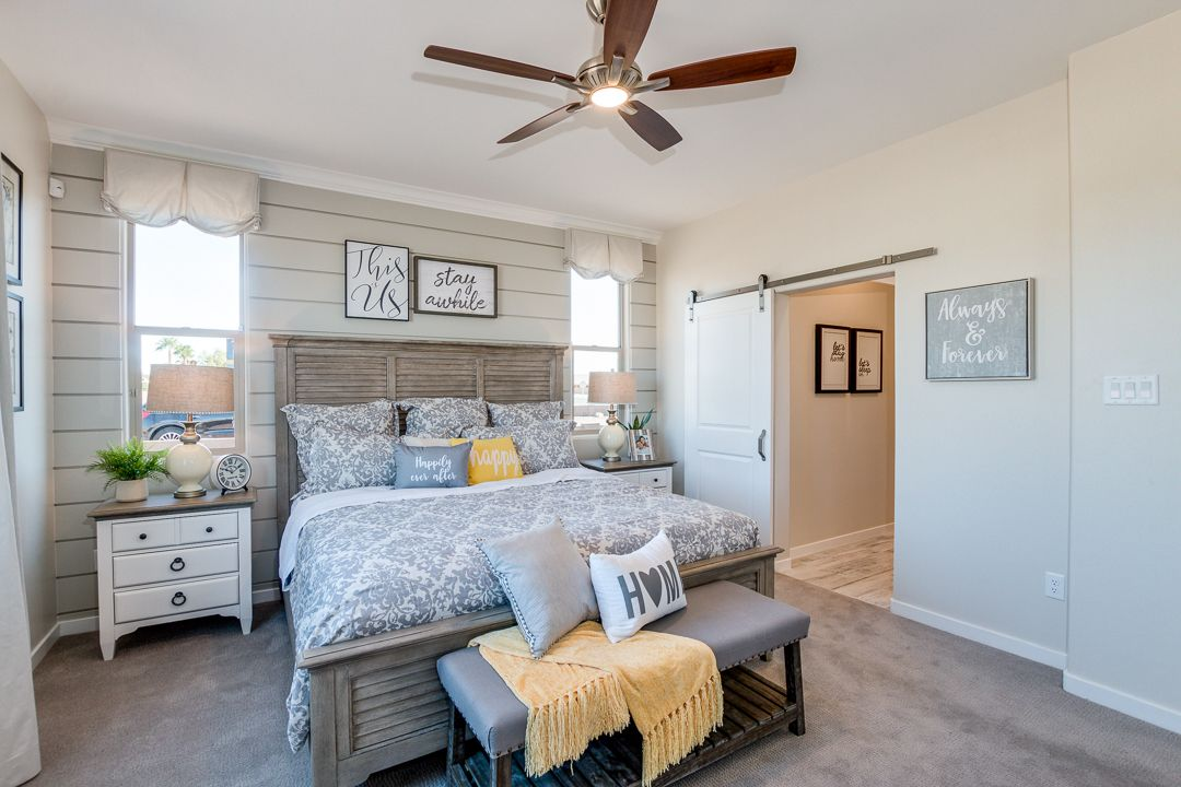 Bedroom featured in the Plan 1846 By Elliott Homes in Yuma, AZ