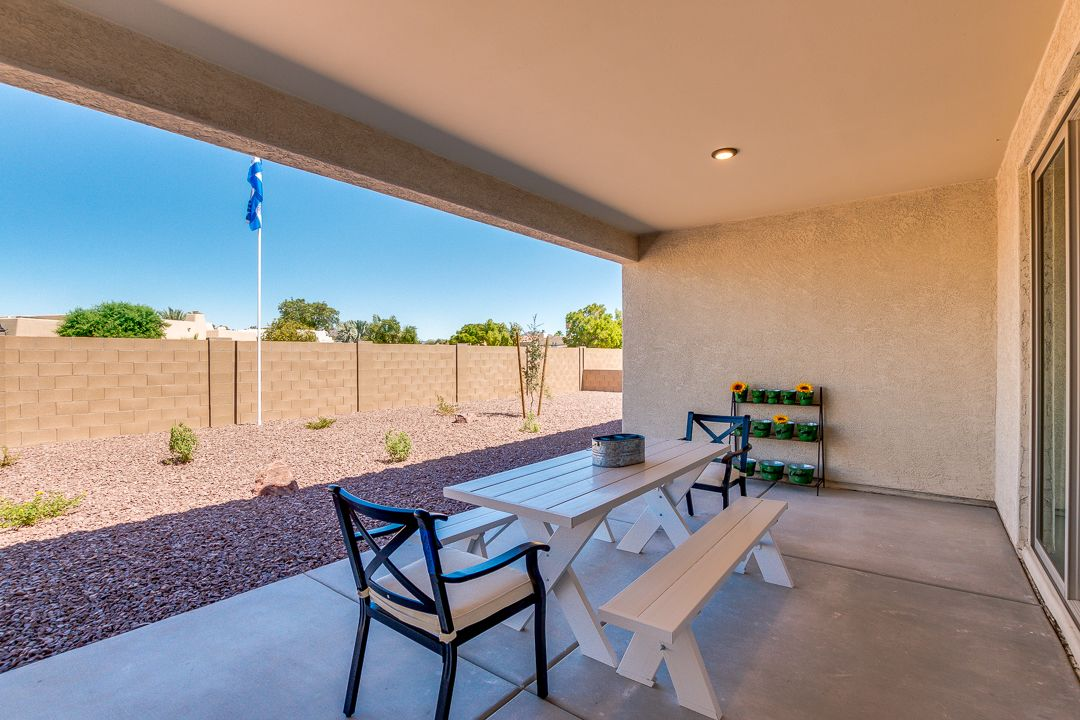 Exterior featured in the Plan 2121 By Elliott Homes in Yuma, AZ