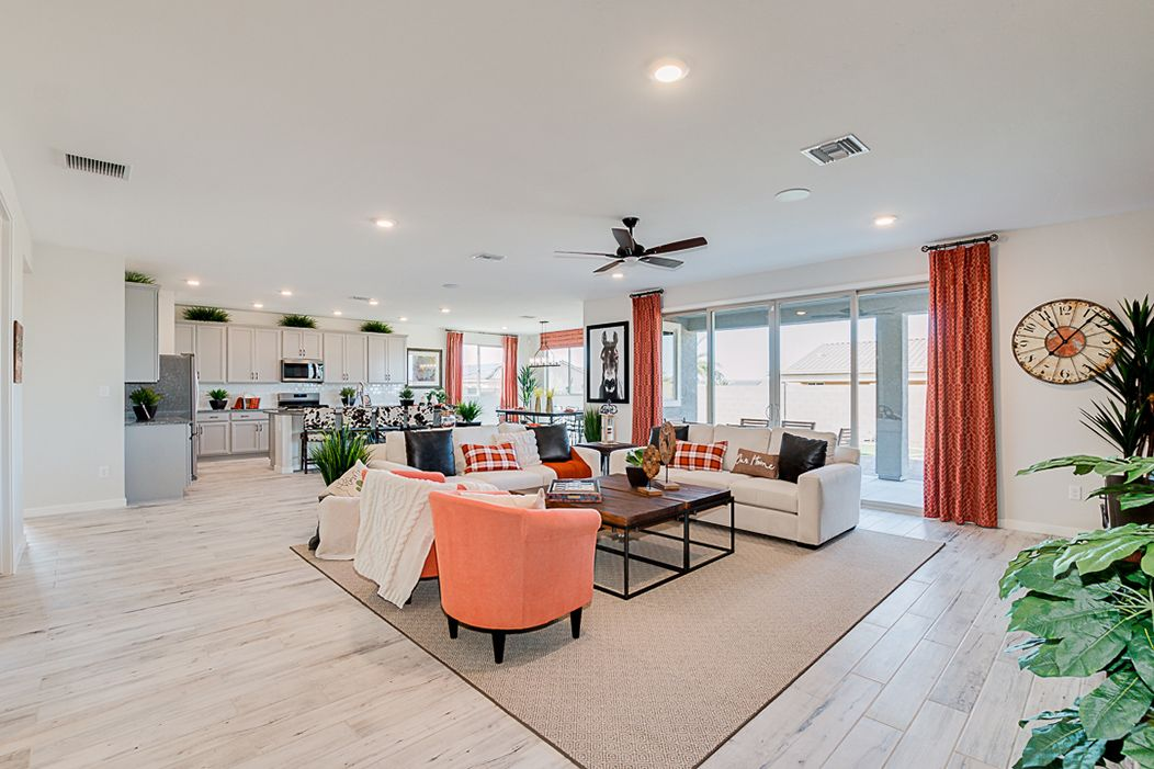 Living Area featured in the Plan 203 By Elliott Homes in Yuma, AZ