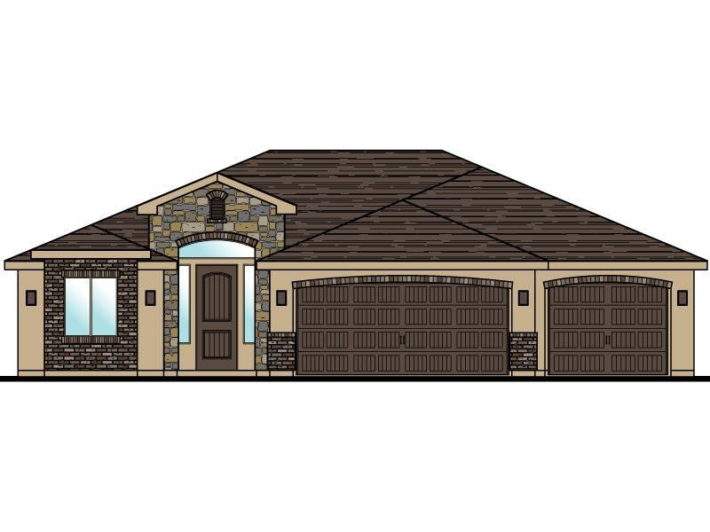 Exterior featured in the Elmwood Plan 1742 By Ence Homes in St. George, UT