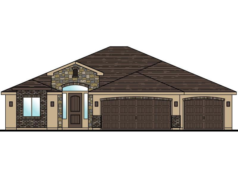Exterior featured in the Elmwood Plan 1958 By Ence Homes in St. George, UT