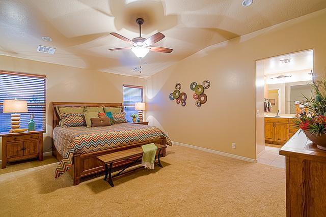 Bedroom featured in the Elmwood Plan 2010 By Ence Homes in St. George, UT