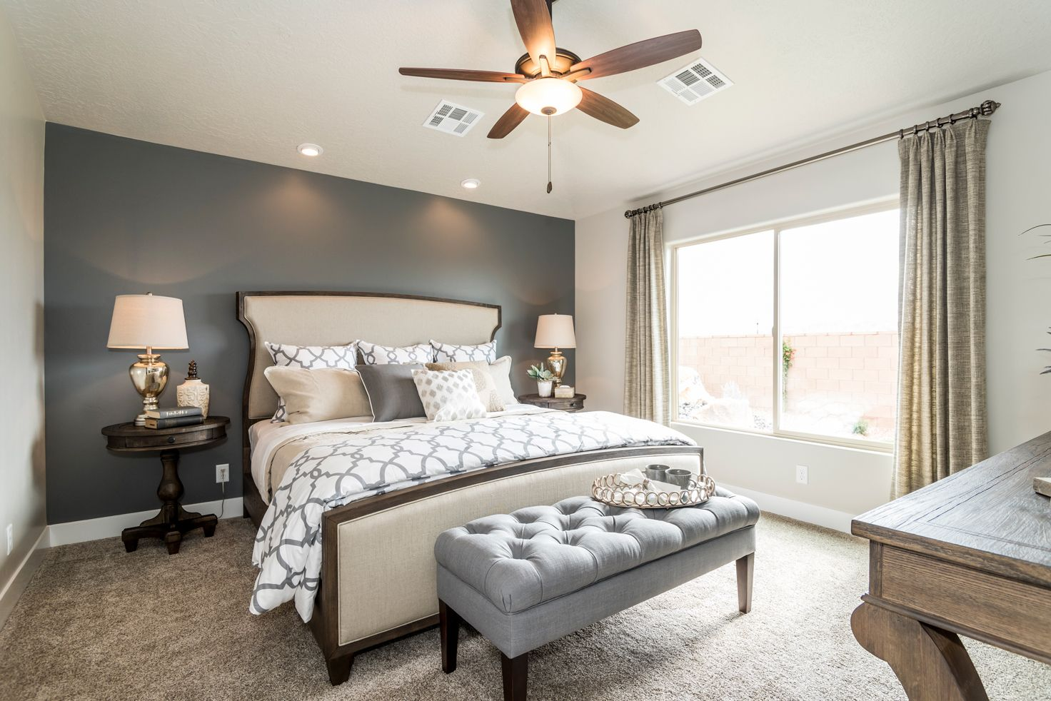 Bedroom featured in the Sand Ridge Plan 1872 By Ence Homes in St. George, UT
