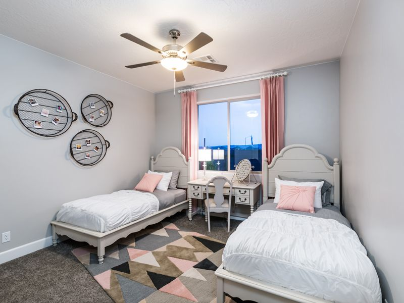 Bedroom featured in the Arroyo Plan 2114 By Ence Homes in St. George, UT