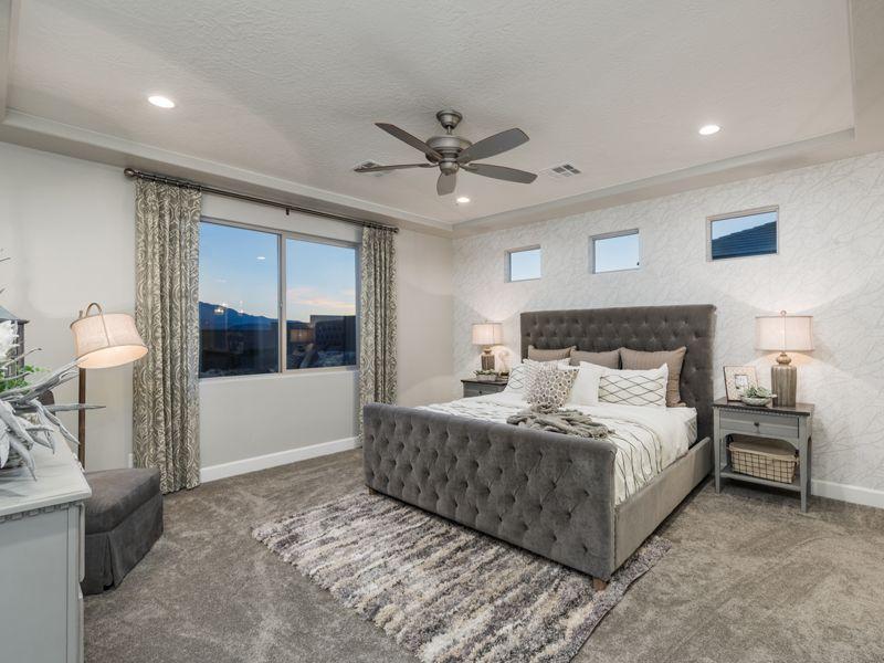 Bedroom featured in the Varano Vistas Plan 2114 By Ence Homes in St. George, UT