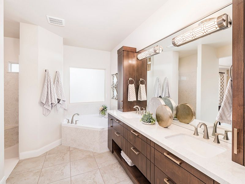 Bathroom featured in the Arroyo Plan 2224 By Ence Homes in St. George, UT