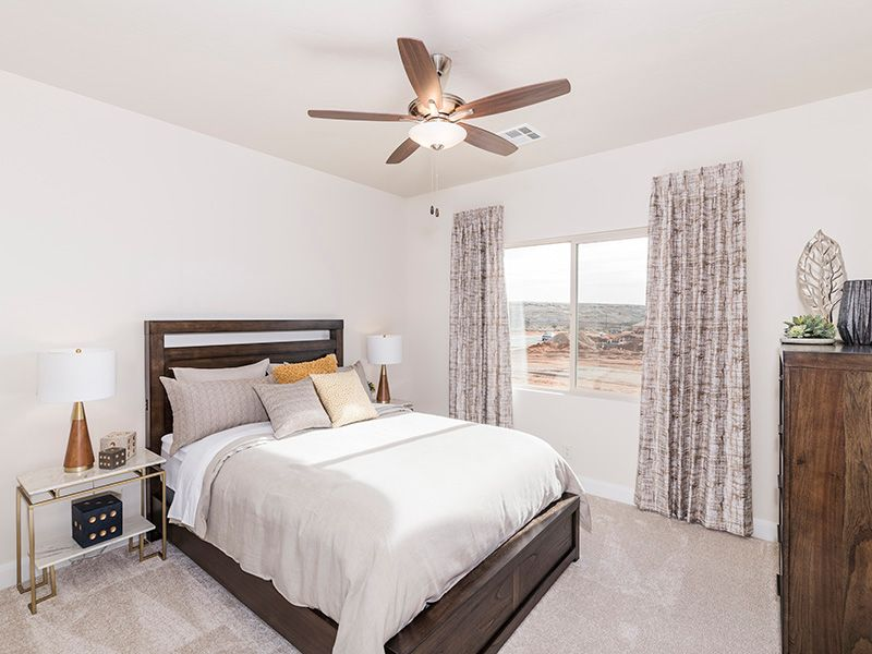 Bedroom featured in the Arroyo Plan 2224 By Ence Homes in St. George, UT