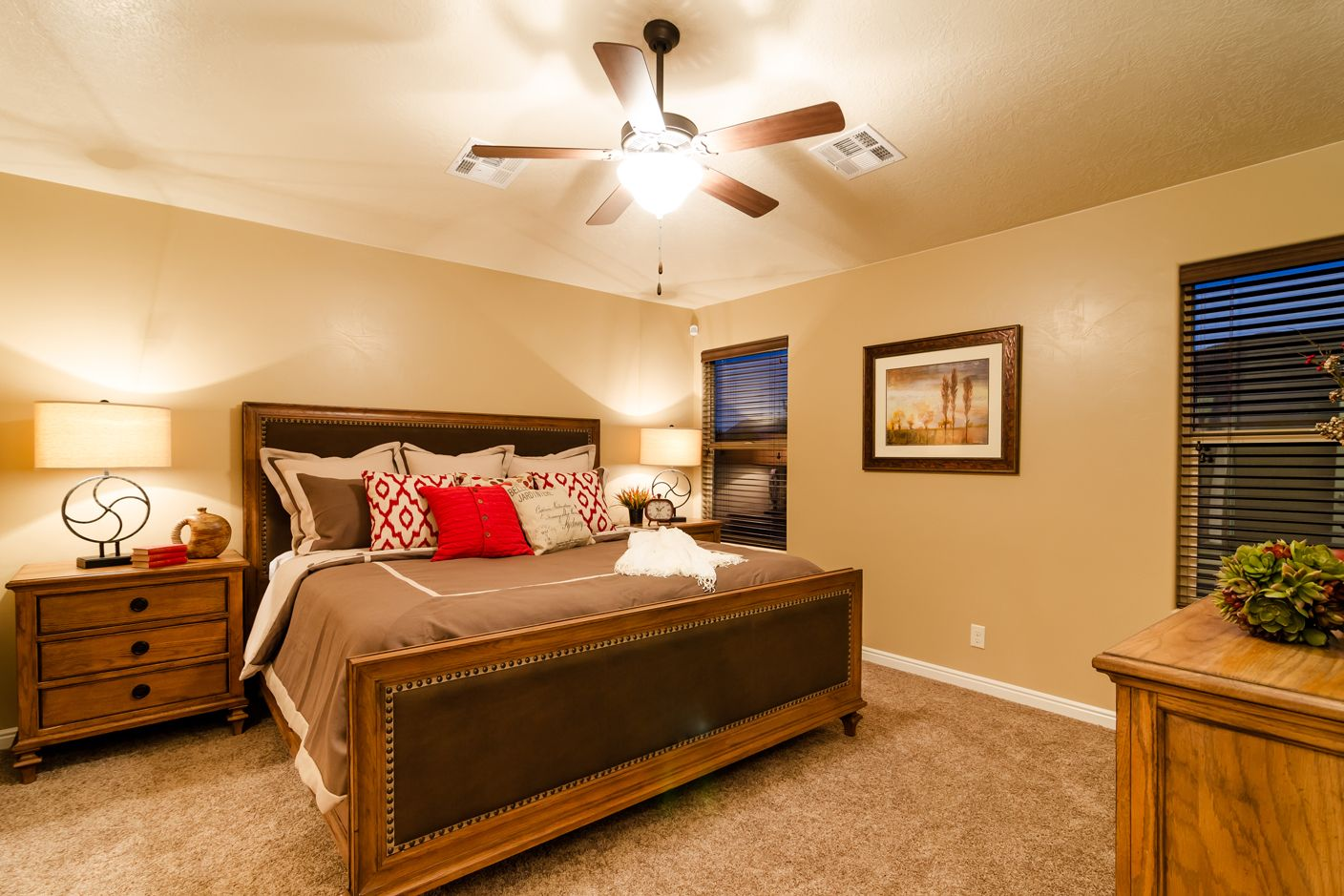 Bedroom featured in the Arroyo Plan 1660 By Ence Homes in St. George, UT