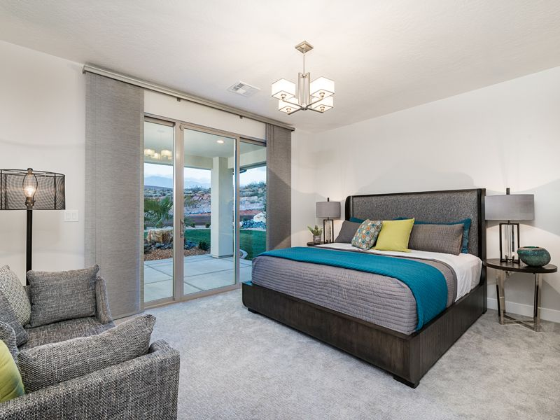Bedroom featured in the Arroyo Plan 2324 By Ence Homes in St. George, UT