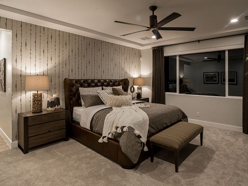 Bedroom featured in the Pocket Mesa Plan 2384 By Ence Homes in St. George, UT