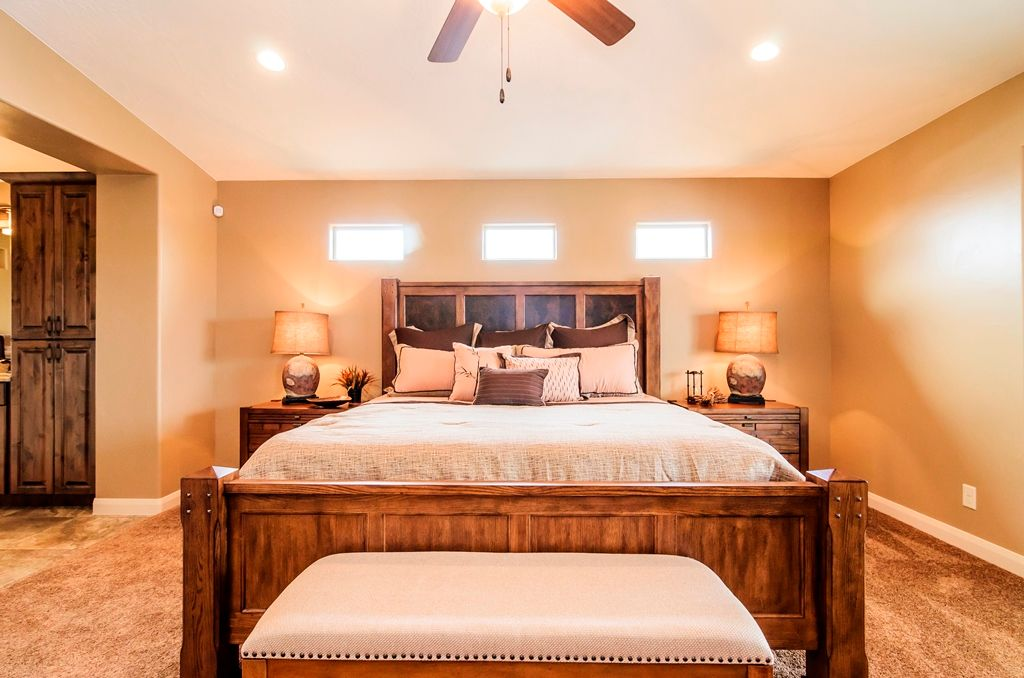 Bedroom featured in the Sentieri Canyon Plan 2108 By Ence Homes in St. George, UT