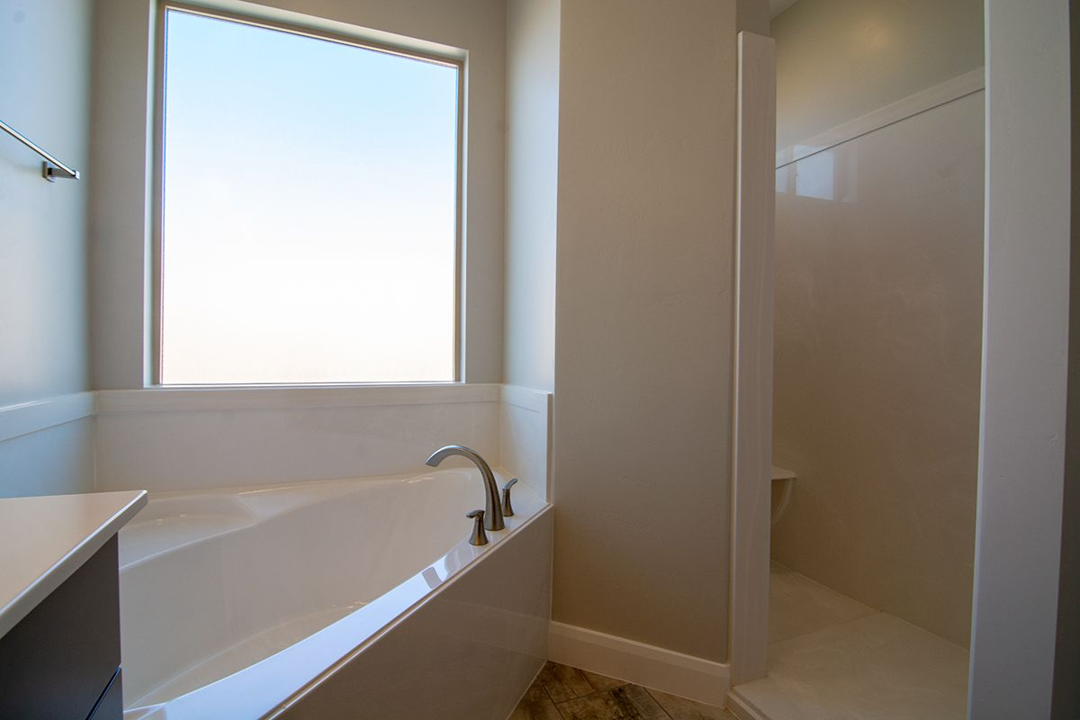 Bathroom featured in the Sentieri Canyon Plan 2004 By Ence Homes in St. George, UT