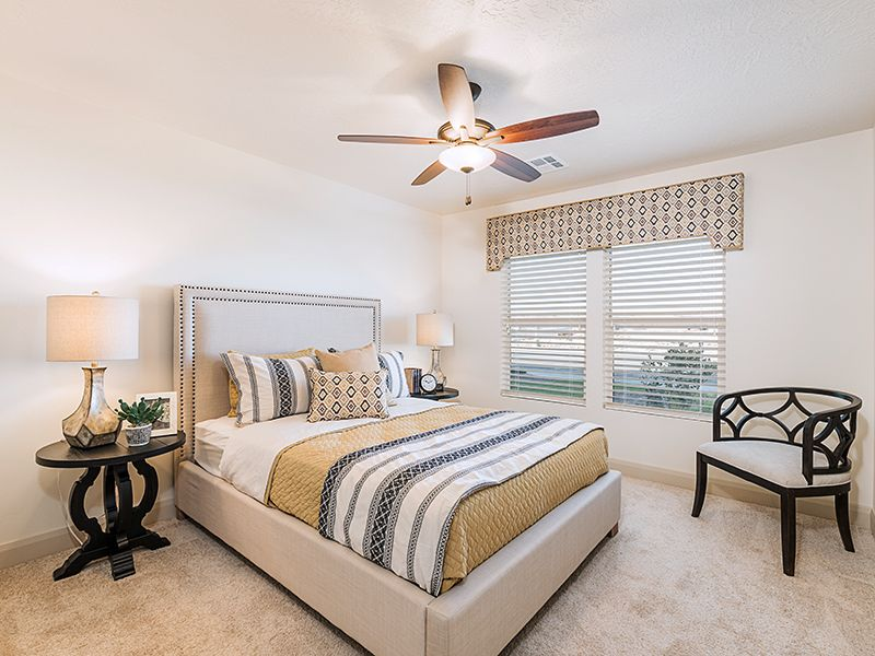 Bedroom featured in the Sand Ridge Plan 2218 By Ence Homes in St. George, UT
