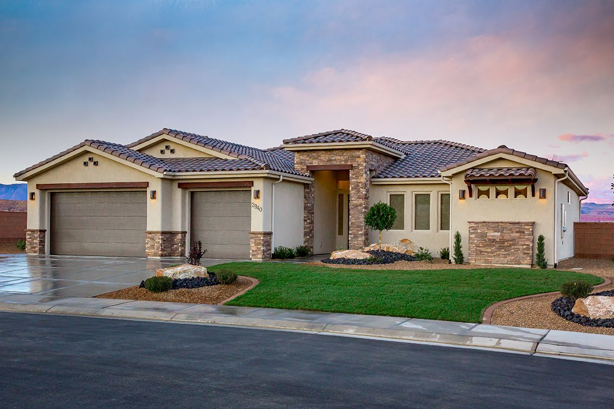 'Sentieri Canyon at Divario' by Ence Homes in St. George