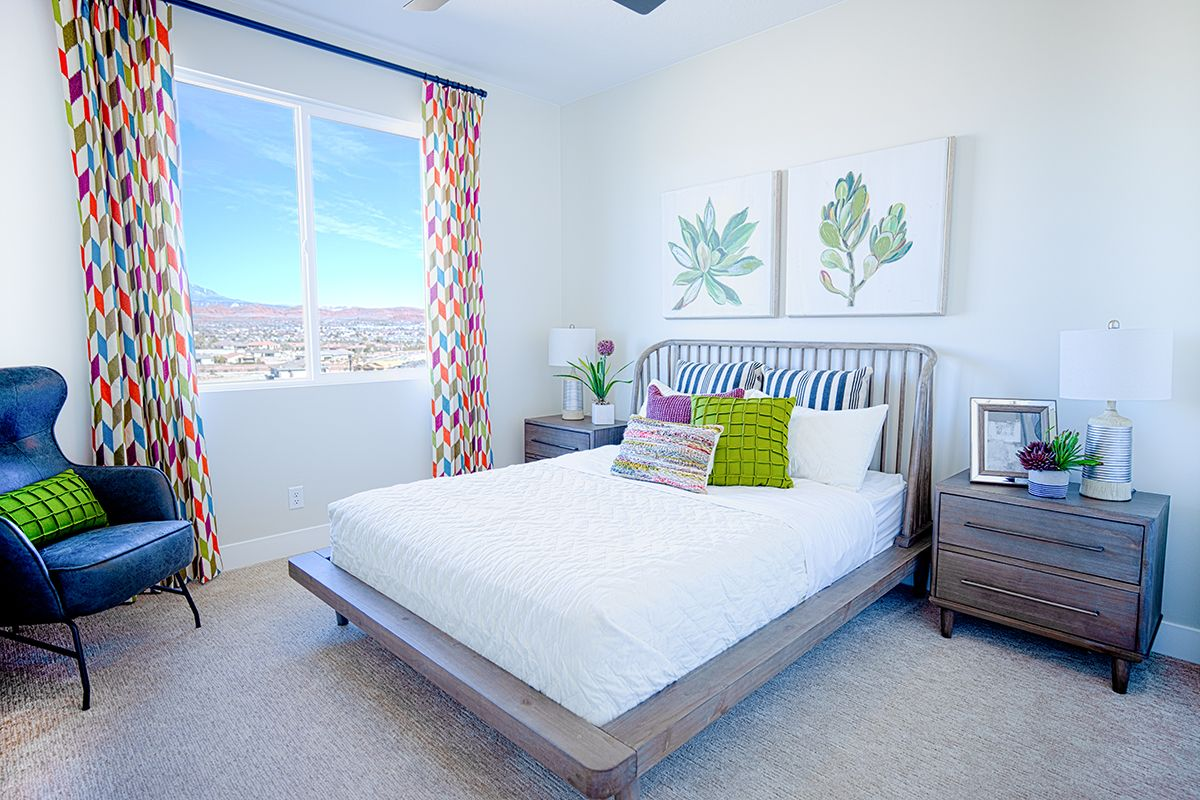 Bedroom featured in the Sentieri Canyon Plan 2644 By Ence Homes in St. George, UT