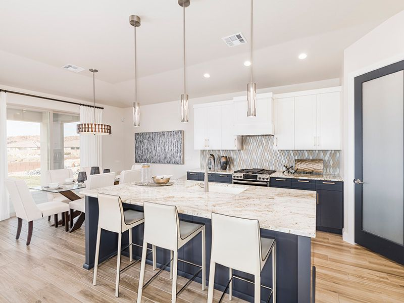 Kitchen featured in the 2114 By Ence Homes in St. George, UT