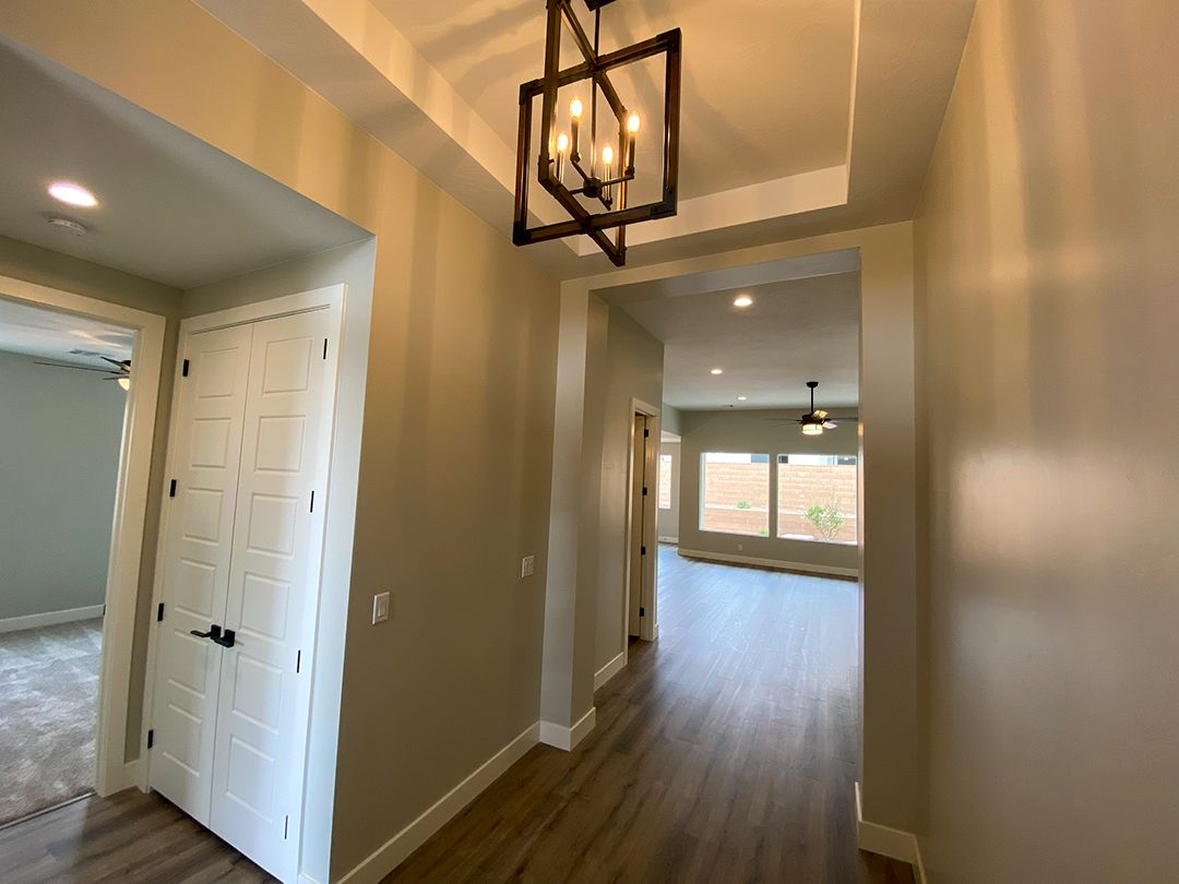 Living Area featured in the Pocket Mesa Plan 2190 By Ence Homes in St. George, UT