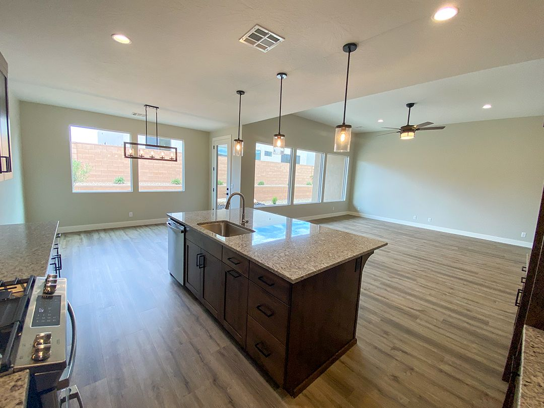 Kitchen featured in the Pocket Mesa Plan 2190 By Ence Homes in St. George, UT