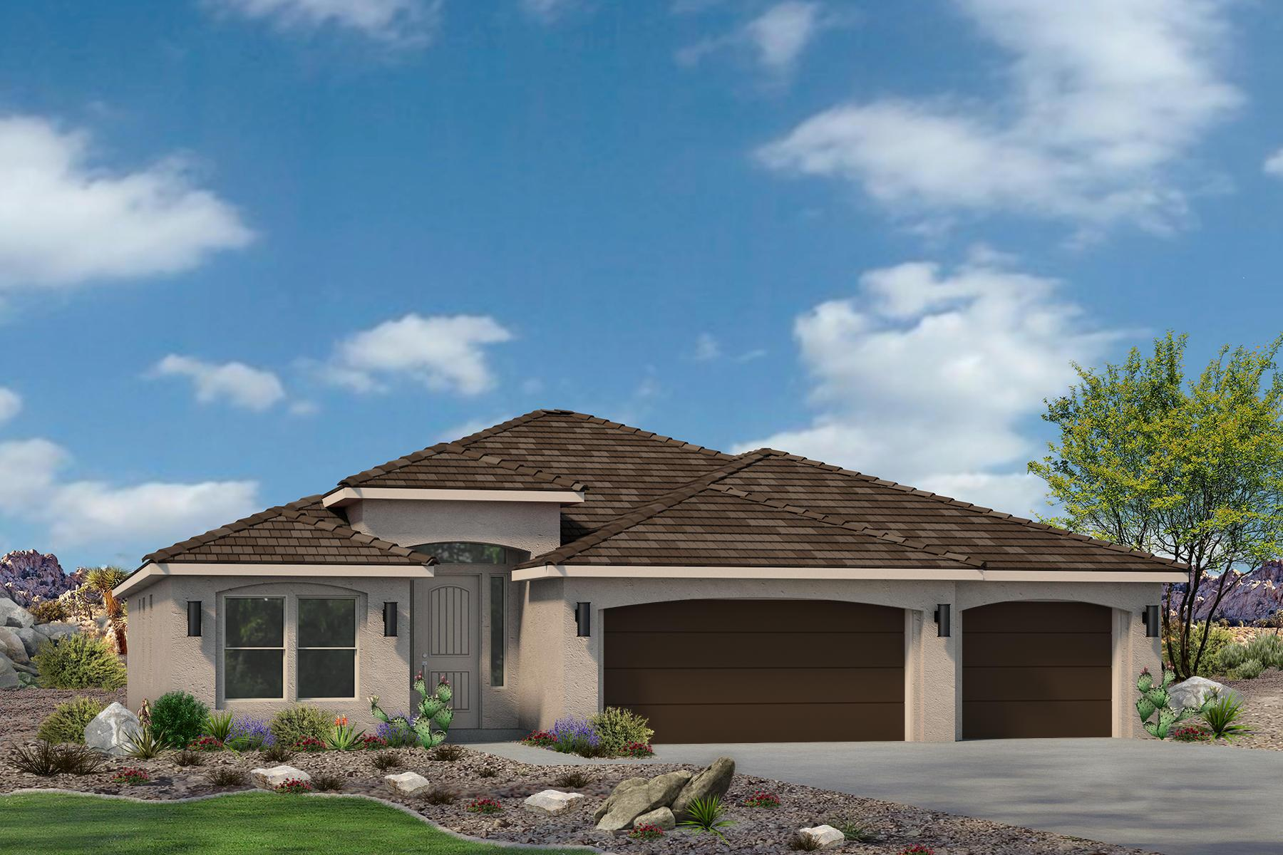 Exterior featured in the Red Waters Plan 2025 By Ence Homes in St. George, UT