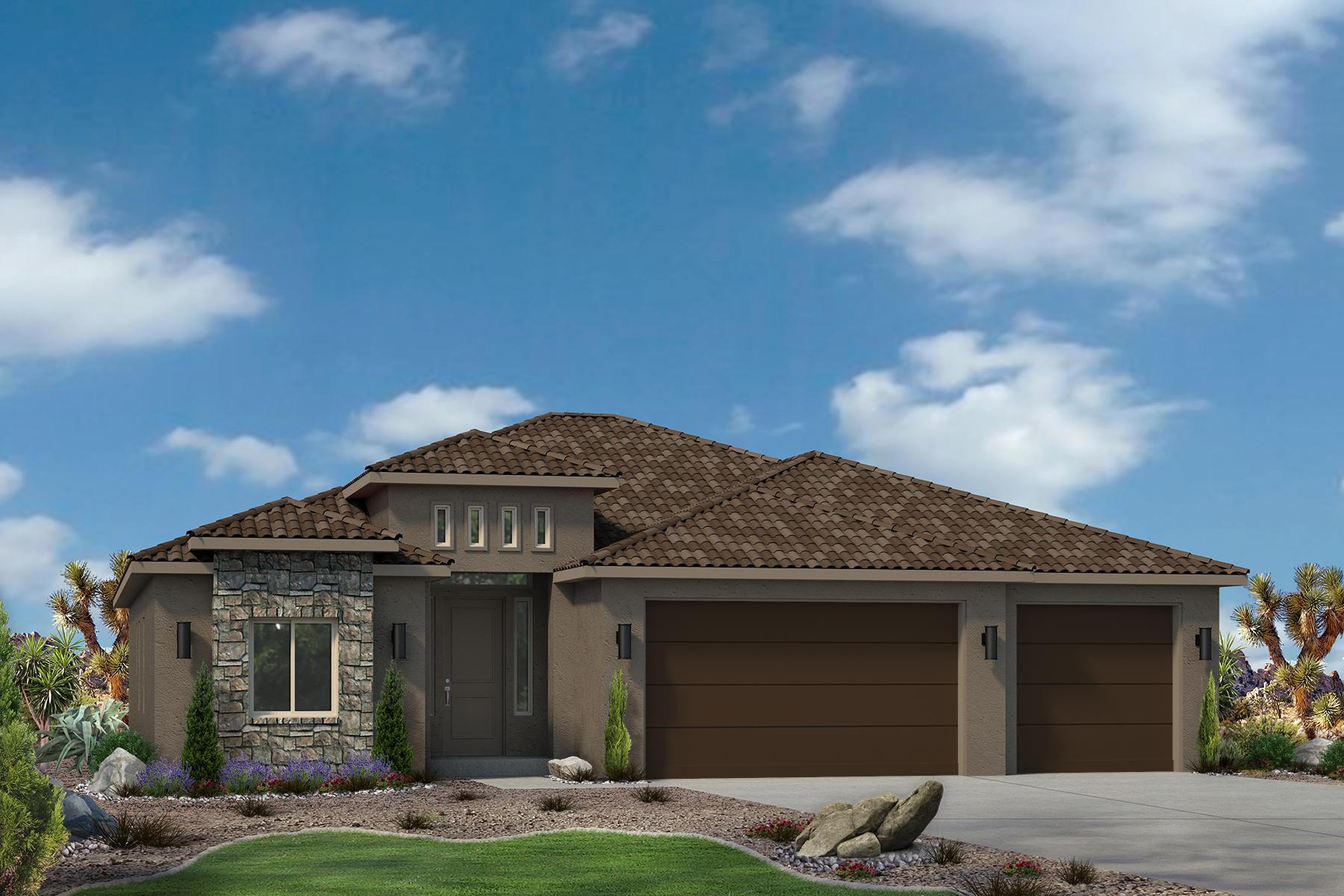 Exterior featured in the Varano Vistas Plan 2015 By Ence Homes in St. George, UT