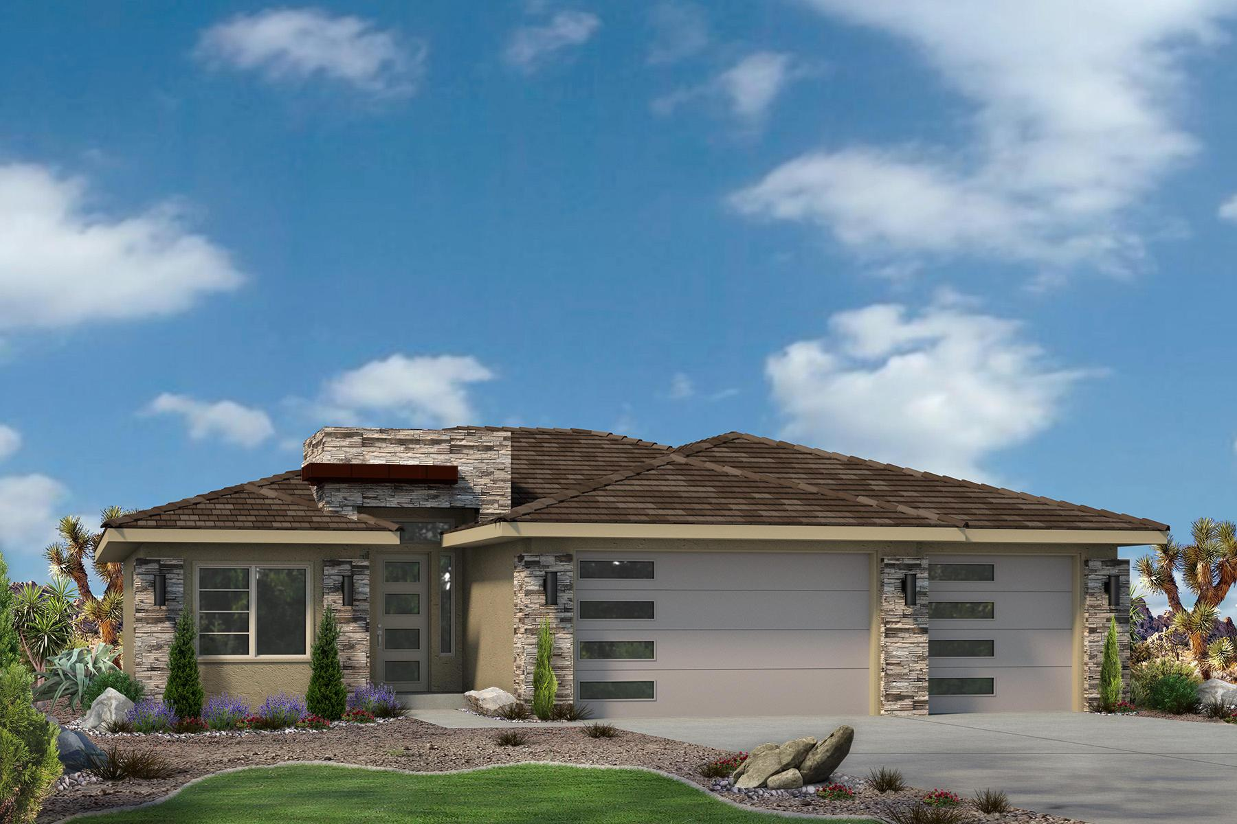 Exterior featured in the Varano Vistas Plan 1660 By Ence Homes in St. George, UT